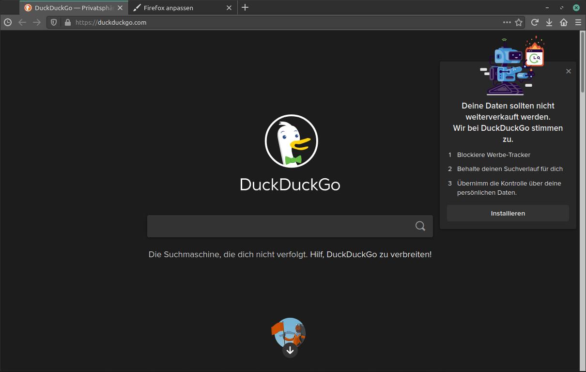 Firefox Adressleiste Einblenden